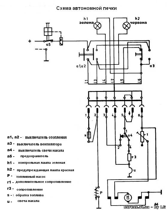 Bmw 518i схема фильтра печки